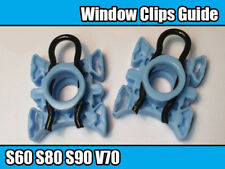 2x FRONT WINDOW REGULATOR GUIDE CLIPS SLIDING BLOCK For VOLVO S60 S80 S90 V70