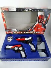 New listing 04 Bandai Japan Sentai Dekaranger Dx Hybrid Magnum Set Power Rangers Spd Morpher