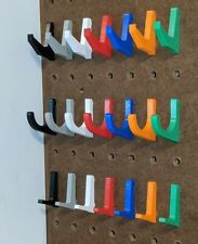 Pegboard Hooks - Supreme Fit. Will Not Fall Out!