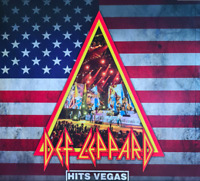 Def Leppard Hits Vegas Vinyl Blue Coloured 3LP 2020 Limited Edition New Sealed