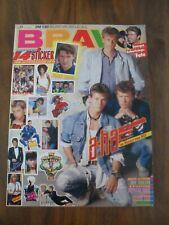 BRAVO 31/1987 mit 3 Postern + Stickerkarte + Autogrammkarte + Star-Album
