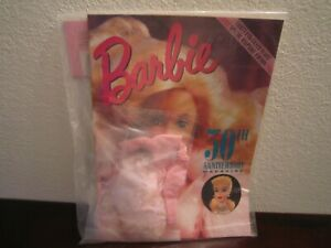 1989 Barbie 30th Anniversary Magazine with Special fashion NEW