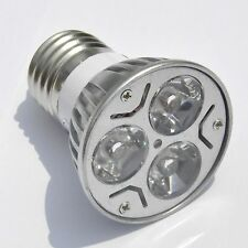 E27 3W Cold White AC 85-265V Spotlight High Power LED Bulb Energy Saving Lamp