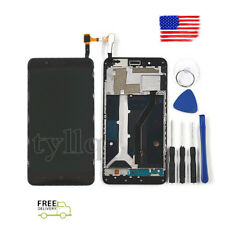 NEW LCD Touch Screen Digitizer + Frame Replacement For ZTE Blade Z Max Z982