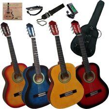 Pack Set de guitarra clásica española de niño junior 1/2 con 5 accesorios