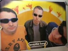 Huge Subway Poster Beastie Boys 1998 Hello Nasty Mca Mike D Ad-Rock Rap England