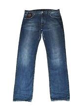 Armani Jeans Men's New J45 32x34 Regular Fit & Waist  Cotton Blue Zip Fly NWT