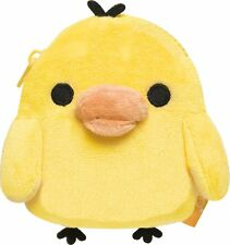 San-x Kiiroitori (Yellow Chick) Soft Plush type Coin Case (CK45601)