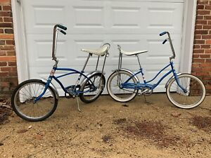 Vintage Rollfast Skoot - His and Hers Pair - Beautiful Blue - Muscle Bikes/Apes