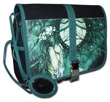 Victoria Frances Horizonte Mond Wald Gothic Mädchen Kosmetik grün Handtasche