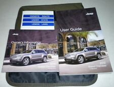 2013 JEEP GRAND CHEROKEE USER GUIDE OWNERS MANUAL SET DVD SRT8 w/case 13