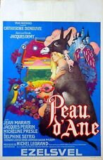PEAU D'ANE 1970 Catherine Deneuve, Jean Marais, Jacques Perrin BELGIAN POSTER
