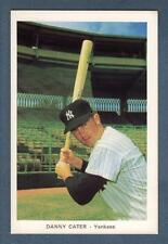 Circa 1971 New York Yankees 4x6-inch card: DANNY CATER (Very Good-Plus)