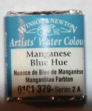 Winsor & Newton HALF PAN Watercolor-MANGANESE BLUE HUE Series 2A
