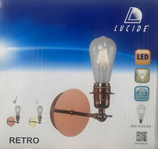 Lucide Cooper Retro Lights (X2) Inc. Edison Style Bulb