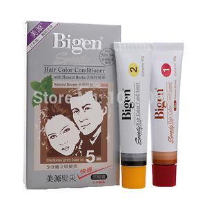 1 x Japan Bigen Speedy Hair Dye Hair Color Conditioner (Natural Brown) 884