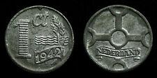 Netherlands - 1 Cent 1942 zink