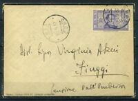 Italia 1932 Busta 100% 50 c, Dante Alighieri