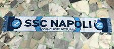 1 SCIARPA NAPOLI Ufficiale PARTENOPE LANA SCARF MARADONA SSC NAPOLI CUOREAZZURRO
