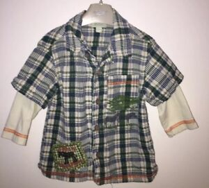 Boys Age 6-12 Months (6-9 & 9-12 Months ) Monsoon Long Sleeved Shirt