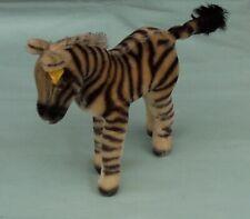 Steiff Zebra  Vintage Toy Germany c1960's 1420/22