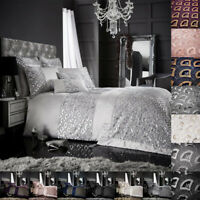 Luxurious Sequin Duvet Cover Set Single Double Super King Glitter Fancy Bedding