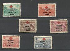 Albania Albanien Albanie 1946 Red Cross MiNr 385 - 390 MNH**