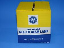 GE Sealed Beam Lamp 50W 12V 50PAR36WFL Factory sealed Bulb
