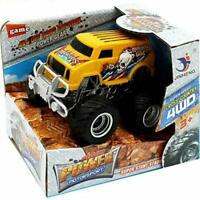 Monster Truck 4x4 Friction Power Car Toy Boys