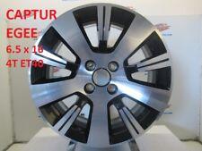 JANTE ALU RENAULT CAPTUR  CLIO IV   16 POUCES   MODELE  * EGEE NOIRE/GRISE  *