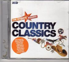 (FD278A) The World's Biggest: Country Classics, 38 tracks various - 2CDS - 2011