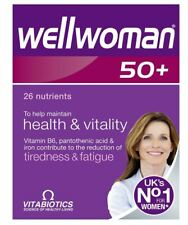 Vitabiotics Wellwoman 50+ Plus Advanced Vitamin Mineral Supplement 30 Tablets