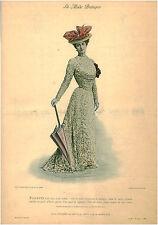 Publicité ancienne la mode pratique toilette d'été en faille - No 16  - 1899