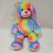 NEW Rainbow Build A Bear Teddy Soft Toy Plush