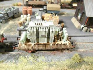 HO Artitec Roco Freight Railway Car Custom Detailed Hand Painted Weathered #2865