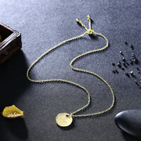 """Wonders Jewelry """"Love You More"""" Engraved Necklace with Heart Pendant Gold Color"""