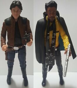 Star Wars: The Black Series - #62 Han Solo & #65 Lando Calrissian 6-Inch Loose