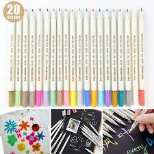 Premium acrylic pens, marker pens for stones, 20 colors marker paint pen