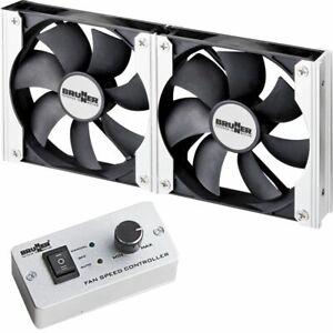 Kühlschrank Lüfter 12V Zusatzkühlung für Caravan Wohnmobil - Durchmesser 120 mm