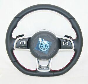 NEW OEM VW GOLF POLO JETTA SCIROCCO GTI MULTIFUNCTION COMPLETE STEERING WHEEL