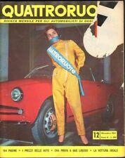 Quattroruote 1957 Dicembre
