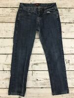 Forever 21 Womens Blue Stretch Denim Jeans Size 29 x 27 Medium Wash