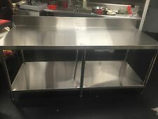 stainless steel work bench (big one)