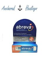 Abreva Cold Sore PUMP Treatment Docosanol Cream 10% 2g Expires 04/2020