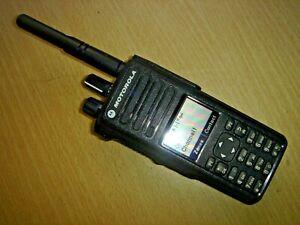 Motorola DP4800 UHF 403-527MHz DMR with battery, beltclip & antenna