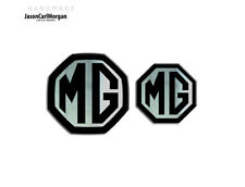 MG ZT-T LE500 MK1 Front & Rear Insert Badges To Fit 59mm 45mm Emblems 19 Colours