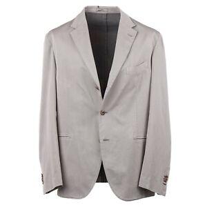 Boglioli Slim-Fit Micro Herringbone Cotton and Silk Suit 48R (fits 46R) Eu58