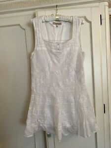 SEE BY CHLOE WHITE DRESS SIZE 10