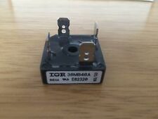 IOR INTERNATIONAL RECTIFIER 36MB40A, BRIDGE RECTIFIER