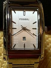 FOSSIL WATCH MEN QUARTZ  E S - 1291 250507 CE, CUREX CASE DESIGN